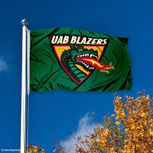 UAB Alabama Birmingham Blazers University Large College Flag