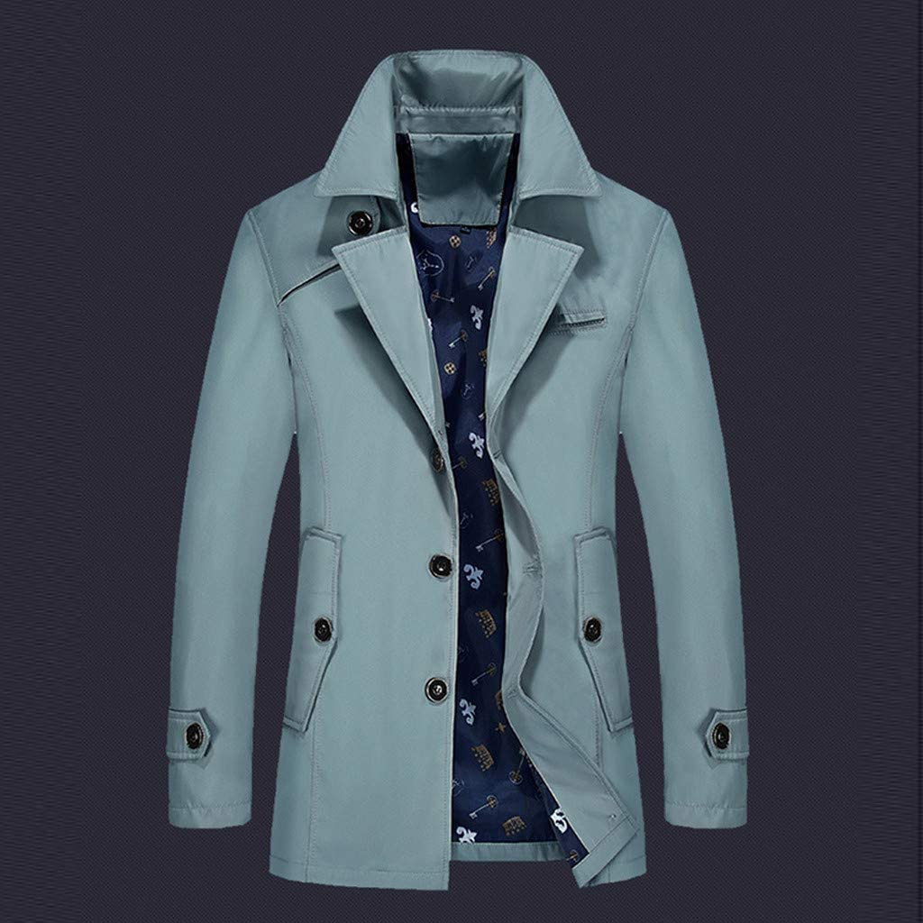 Palarn Print Pullover Winter Clothes Fashion Mens Autumn Winter Outdoor Windbreaker Thick Warm Jacket Coat