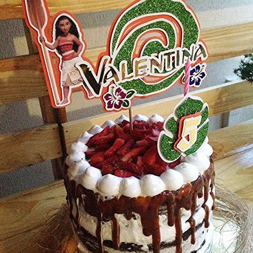 Cake Topper/Topper de pastel Moana/Vaiana: Amazon.es: Handmade