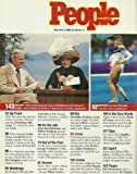 Calista Flockhart (Ally McBeal), Ed McMahon and Johnny Carson, Dominique Moceanu - November 9, 1998 People Weekly Magazine