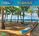 Hawaii National Geographic 2016 Wall Calendar