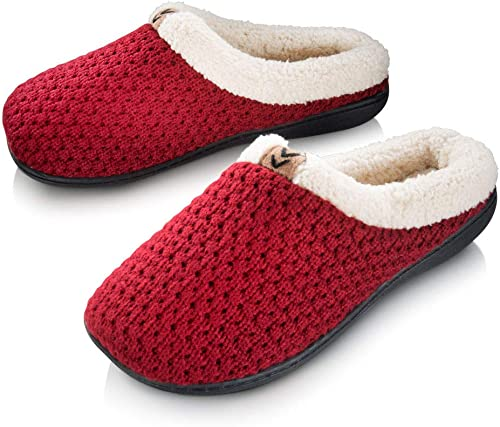 Roxoni Womens Quilted Slippers