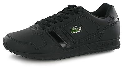 1b49b299fb Lacoste Vauban Pat Noir, Baskets Mode Homme: Amazon.fr: Chaussures ...