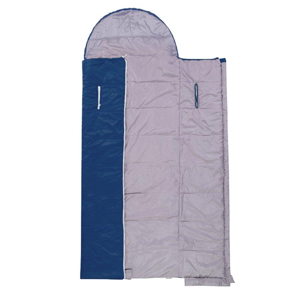 QFFL shuidai Umschlag-Schlafsack Splicable   Waterproof kampierender wandernder rechteckiger Innenschlafsack mit Kompressions-Tasche (180 + 30)  75cm