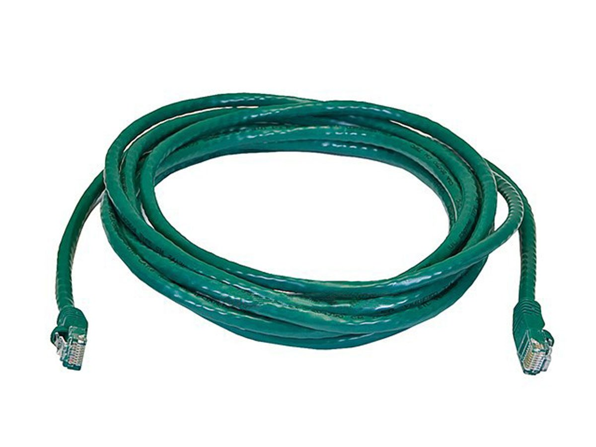 12PC Cat6 24AWG UTP Ethernet Network Patch Cable, 14ft Green