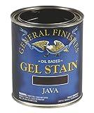 General Finishes Oil Base Gel Stain, 1 Quart, Java