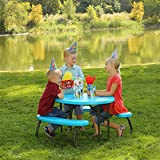 Lifetime Childrens Oval Folding Picnic Table