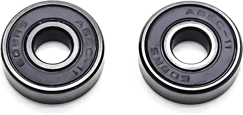 50pcs Skateboard 608ZZ Double Shielded Bearing 8 x22x7mm  8*22*7mm 159B