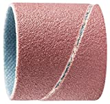 PFERD 41153 1'' x 1'' Spiral Band Cylindrical Type, Aluminum Oxide 150 Grit (100pk)
