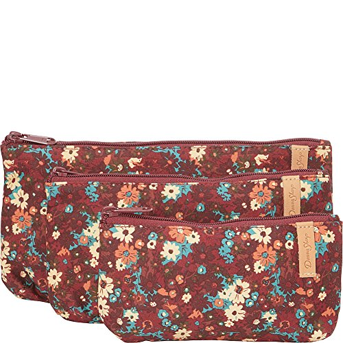 donna-sharp-rectangle-cosmetic-3pc-autumn-flower