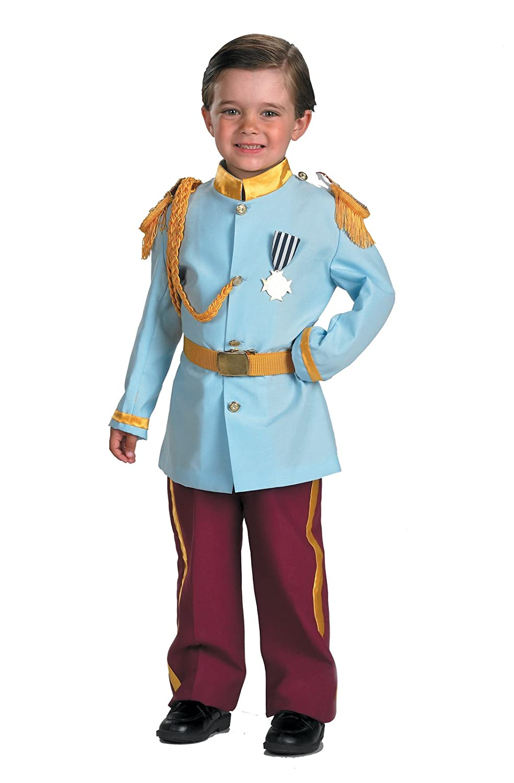 Amazon.com: Disney Prince Charming Child Costume, 4-6, Blue by ...