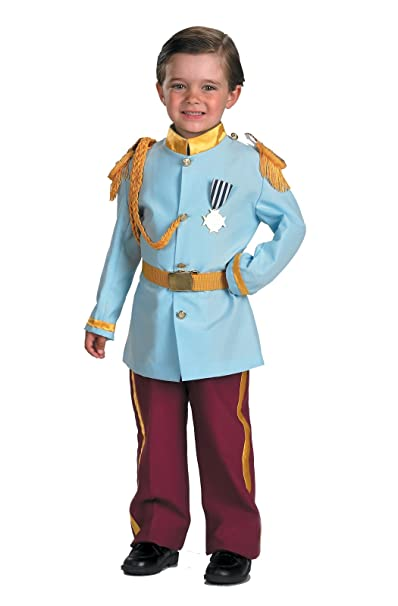 Amazon.com: Disney Prince Charming Child Costume, 4-6, Blue by ...