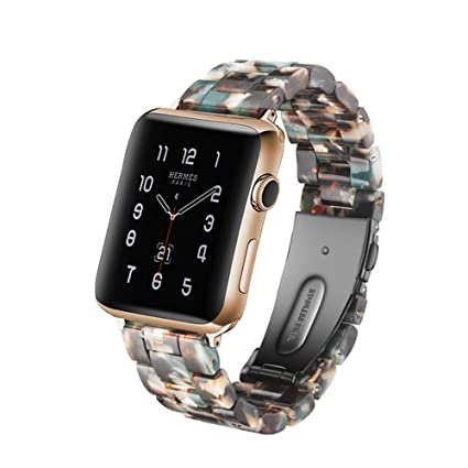 Amazon.com: Herbstze - Correa para Apple Watch (1.496 in ...