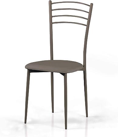 Mondo Convenienza Sedie Da Cucina.Mondo Convenienza Griffe Sedia In Metallo Verniciato E Seduta In