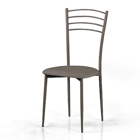 Sedie Legno Mondo Convenienza.Mondo Convenienza Griffe Sedia In Metallo Verniciato E Seduta In