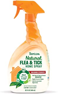 product image for TropiClean Natural Flea & Tick Home Spray (32oz (2 Pack))