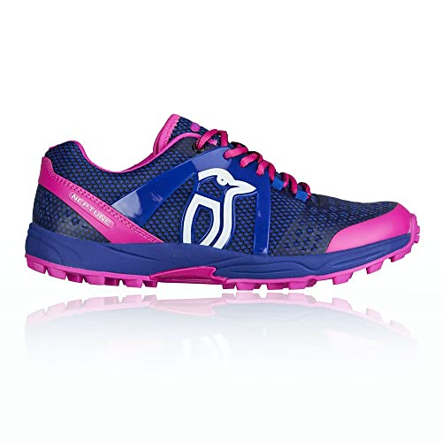 Kookaburra Neptune Junior Hockey Shoes - Blue/Pink - UK 4