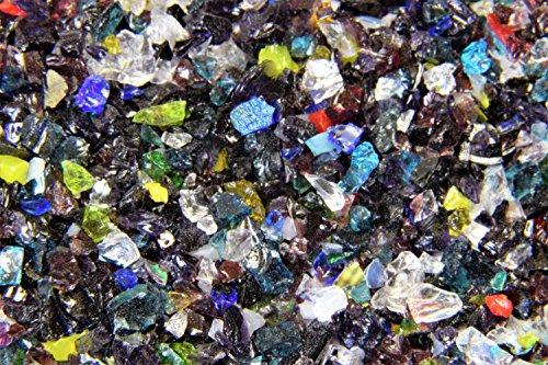 Devardi Glass COE 90 Iridized Rainbow #3 Coarse Frit - 3 ()