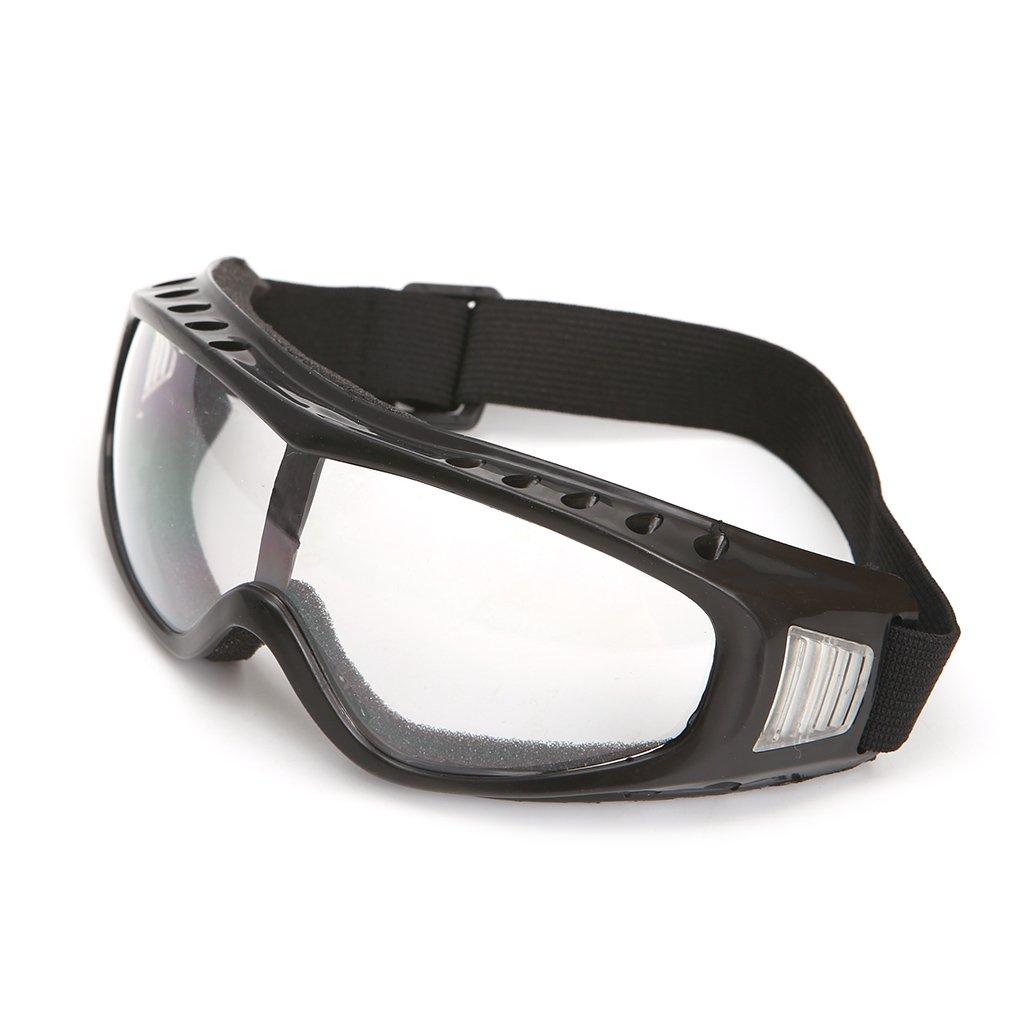 Protection de Yeux Lunettes de Protection Anti-Vent et Anti-poussiere Anti-buee Transparent Jiamins Lunettes de Ski et Moto de s/écurit/é