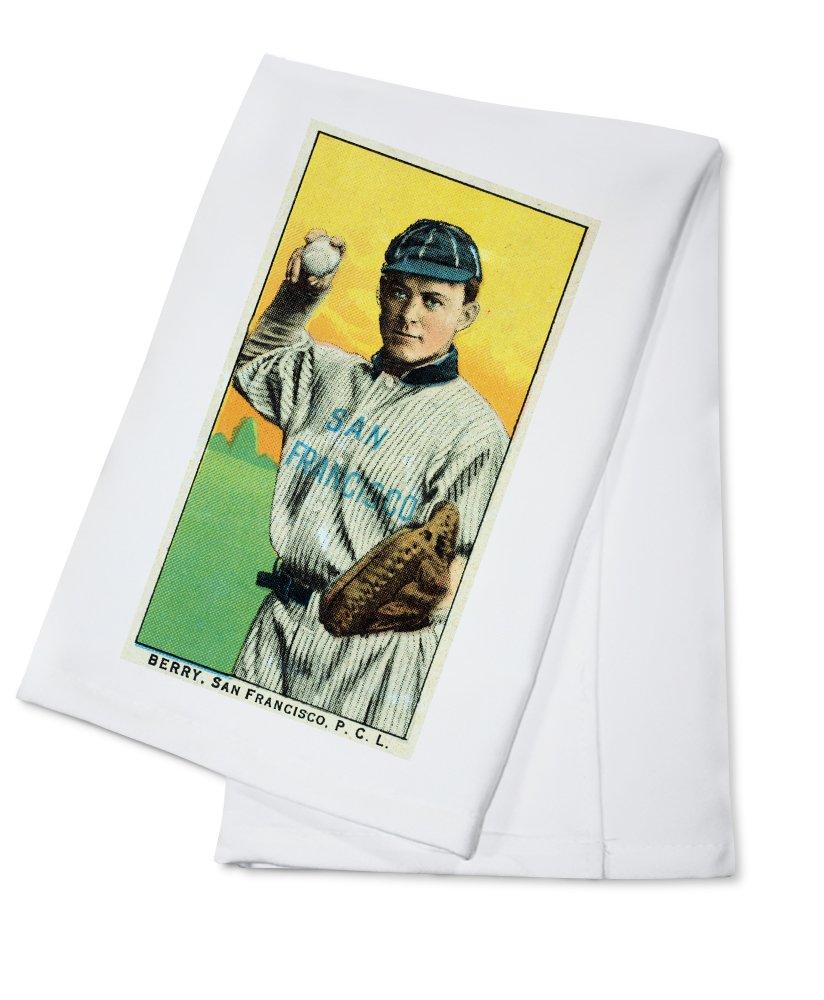 San Francisco Pacific Coast League – Berry – 野球カード Cotton Towel LANT-23569-TL Cotton Towel  B0184B97Q4