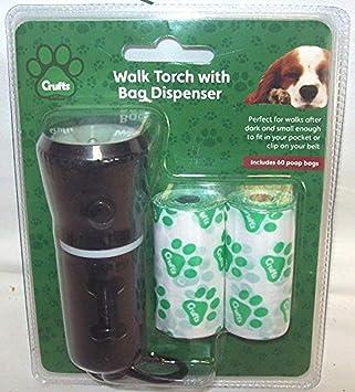 Crufts PMS Reloj LED de Pared con Soporte para Cámara de Perro + Ranuras: Amazon.es: Productos para mascotas