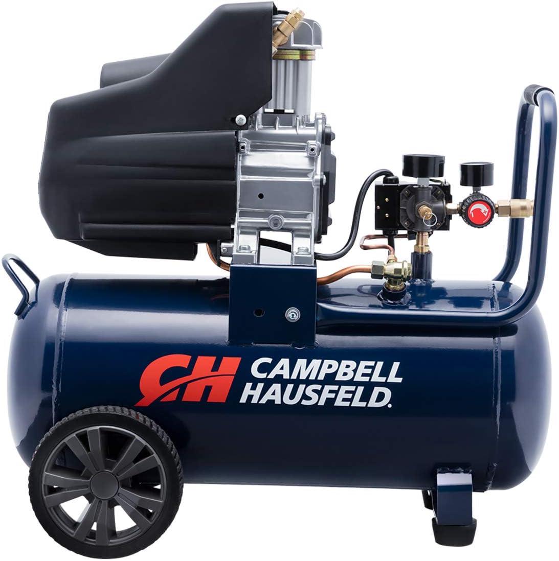 Campbell Hausfeld 8 Gallon Portable Quiet Air Compressor