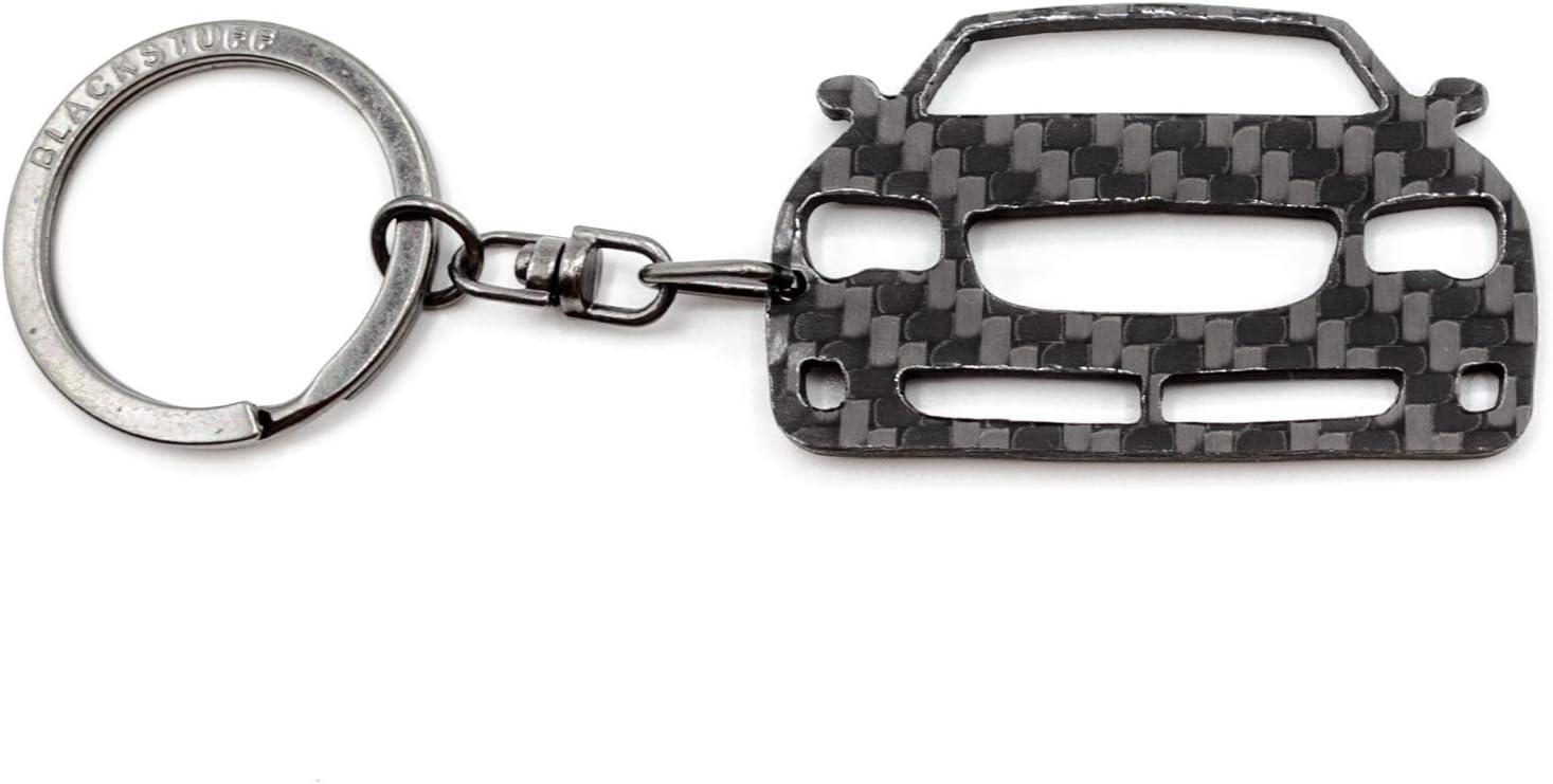 BlackStuff Porte-Cl/és En Fibre De Carbone Compatible Avec Crossfire Voiture