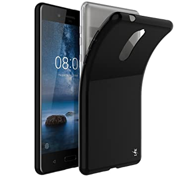 cheaper 53336 298cc LK Nokia 8 Case, Ultra [Slim Thin] TPU Gel Rubber Soft Skin Silicone  Protective Case Cover for Nokia 8 - Black