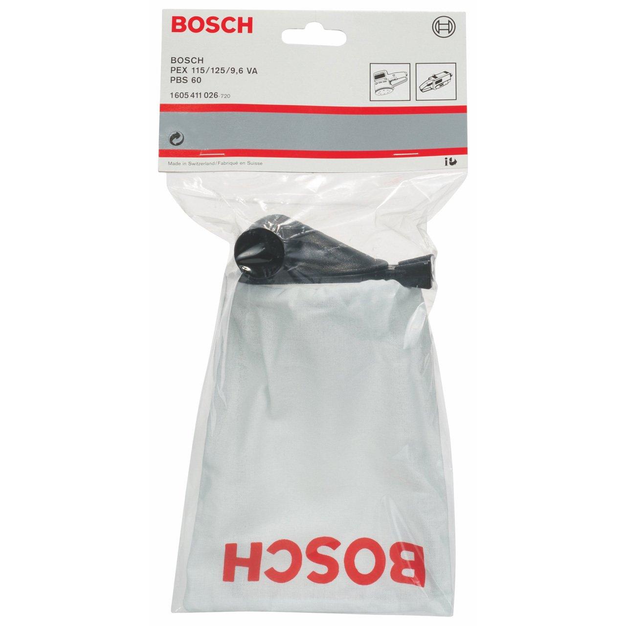Bosch 1 605 411 026 PBS 60//60 E Saco para polvo para PEX 115 A//125 AE