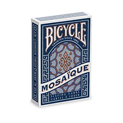 Bicycle Mosaique Playing Cards: Toys & Games