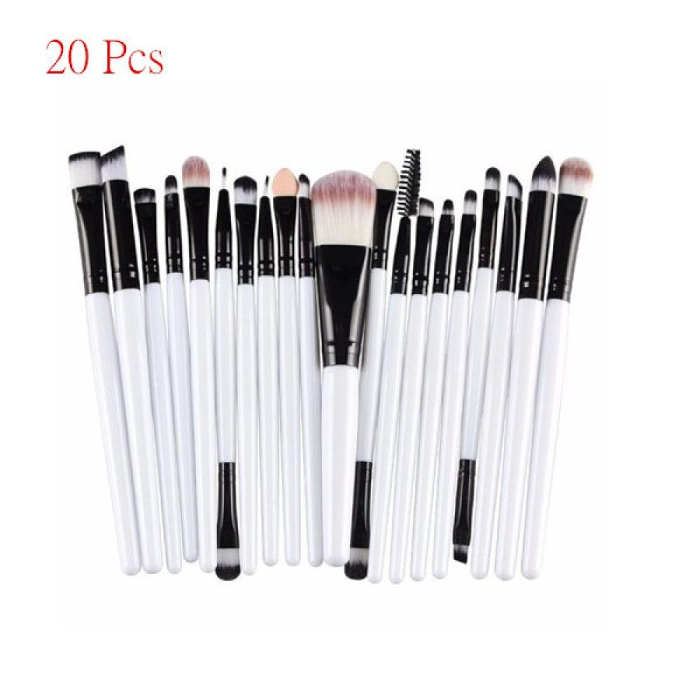 Cosmetic Makeup Brush 20-Piece...