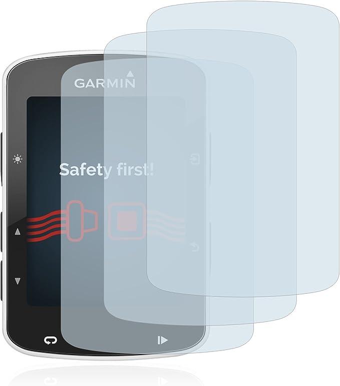 savvies Cristal Templado Compatible con Garmin Edge 820 (3 Unidades) Protector Pantalla Vidrio Proteccion 9H Pelicula Anti-Huellas: Amazon.es: Electrónica