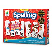 The Learning Journey Match It! - Spelling - 20 Self-Correcting Spelling Puzzle for Three and Four Letter Words with Matching Images