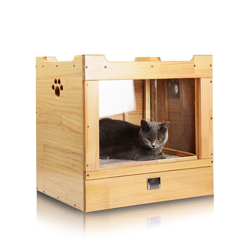 TIKEN Pet Drying Box Solid Wood Pet Grooming Hair Dryer Drying Box Puppy Cat Dog Bathing Hair Dryer Blowing Hair Dryer