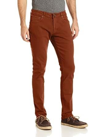 Volcom Men's Riser Colored Jean, Chestnut Brown, 30