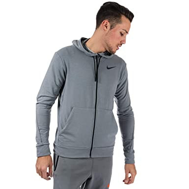 cfc36bd5 Image Unavailable. Image not available for. Color: Nike Men's Dri-FIT  Fleece Full-Zip Training Hoodie ...