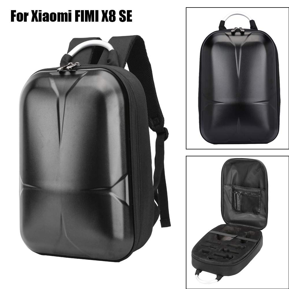 Chiccc Carrying Case for Xiaomi FIMI X8 SE, Portable Travel Durable Shoulder Bag Carrying Bag Handheld Bag Protective Storage For Xiaomi FIMI X8 SE (A) (B)