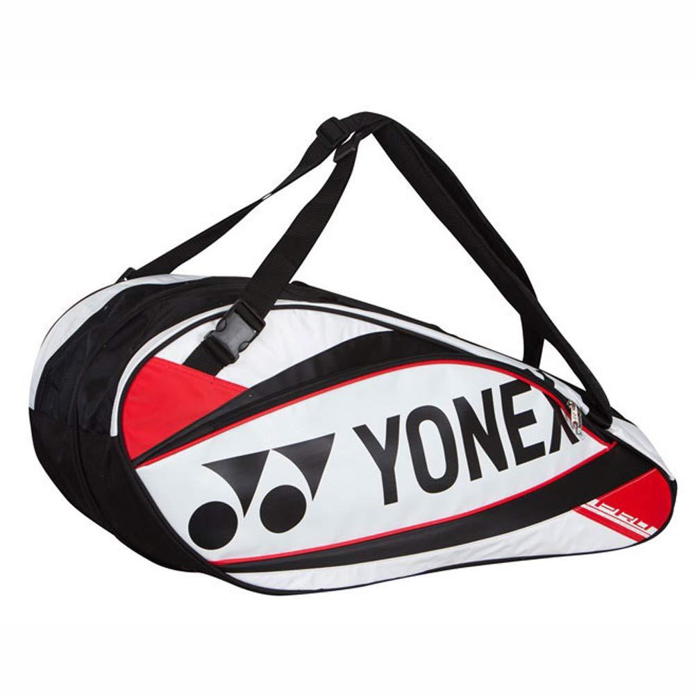 ヨネックス BAG9526EXテニスバドミントンスカッシュラケット2段袋 YONEX BAG9526EX Tennis Badminton Squash Racket Two-Stage Bag [並行輸入品] B07LFCWTGB レッド