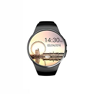 Reloj de pulsera KW-18 128 + 64 MB - negro Smart Watch GT08 ...