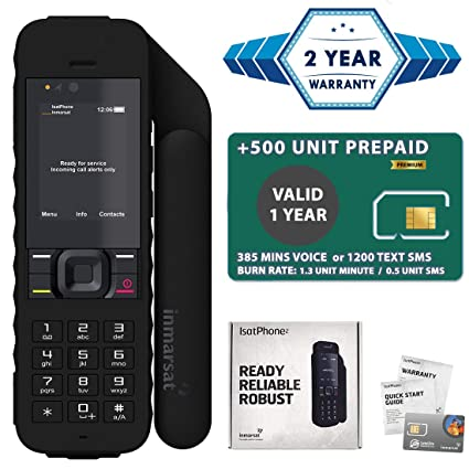 Amazon.com: IsatPhone 2 Satélite Teléfono Estándar Paquete ...
