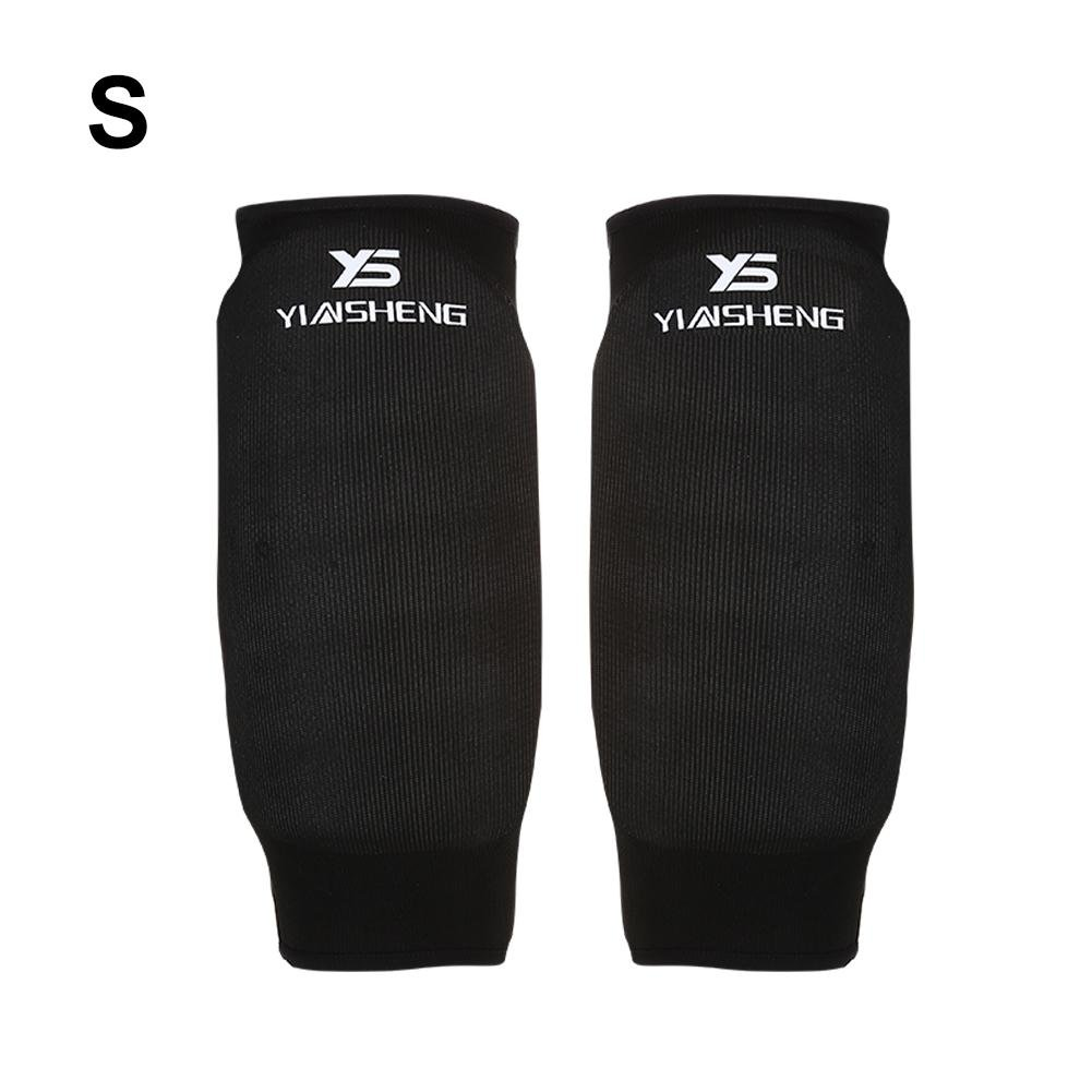 1 Pair Arm Guard Karate Arm Protector Arm Protection Accessory for Karate Competition Training Protector(Black-S) VGEBY