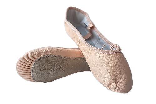 Dance You - Zapatillas de Danza de Cuero para Mujer 40, Color, Talla 36 EU: Amazon.es: Zapatos y complementos