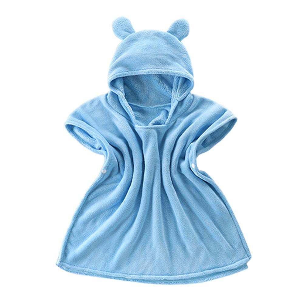 Bébé Garçon/Fille Mignon Doux Peignoir en Coton Capuche Serviettes de Bain pour Bébé CampHiking®