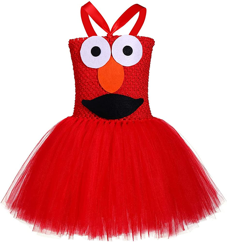 Amazon Com Tutu Dreams Red Monster Outfit For Baby Girl 1st