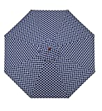 7′ Aluminum Umbrella With Crank Arm, in Navy Trellis Review