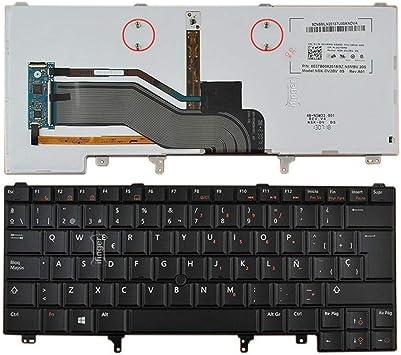 IFINGER Teclado español para DELL Latitude E6420 E6430 E6430s XT3 con retroiluminación luz Backlit retroiluminado Origen ESPAÑA MNP: Amazon.es: Electrónica