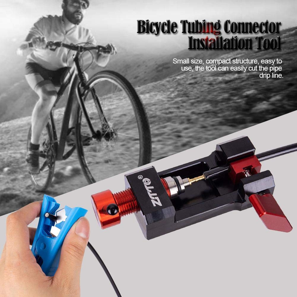 lemon-tree Bicycle Tubing Connector Olive Head Hose Cutter Installation Tool Needle Press Tool Fittings