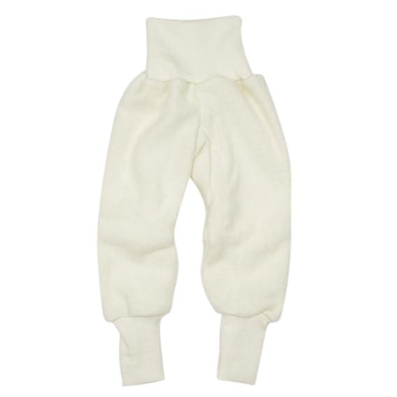 Cosilana Hose Woll Fleece, Größe 98104, Farbe Pep Pink melange Vertrieb nur durch Wollbody®