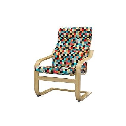 Amazoncom Soferia Replacement Cover For Ikea Poäng Chair Mozaik