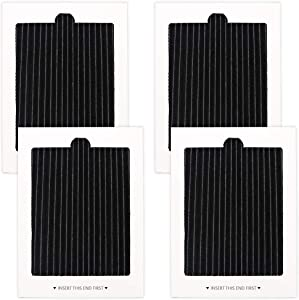 4 Pack Carbon-activated air filter Refrigerator Air Filter Replacement for Frigidaire and Electrolux air filter, replaces SCPUREAIR2PK,EAFCBF PAULTRA PureAir Ultra 242061001,242047801, 242047804